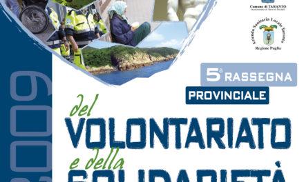 V edizione della rassegna provinciale del volontariato e della solidarietà