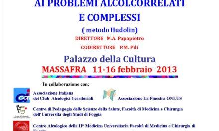 Problemi alcolcorrelati – VI° corso di sensibilizzazione
