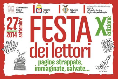 Festa dei Lettori  2014 –  X^ Edizione