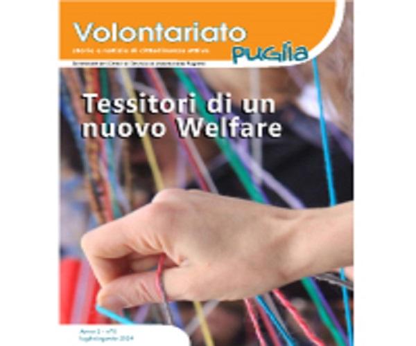 """Al via il numero zero della rivista """"Volontariato Puglia"""""""
