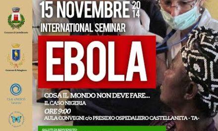 Virus Ebola, un Convegno medico per parlarne