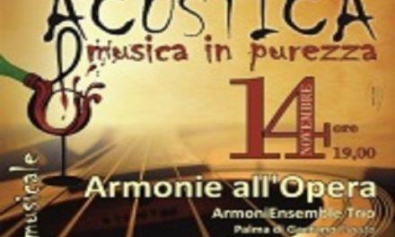 """""""Acustica, musica in purezza"""" – Rassegna Musicale"""
