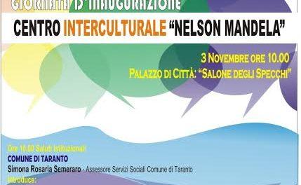 """Inaugurazione del Centro Interculturale """"Nelson Mandela"""""""