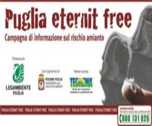 """""""Puglia eternit free"""", la campagna di Legambiente di informazione contro l'amianto"""
