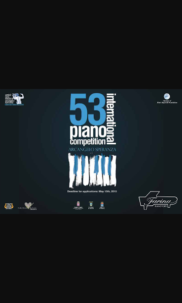 "53° International Piano Competition ""Arcangelo Speranza"" – Scelti i quattro finalisti"