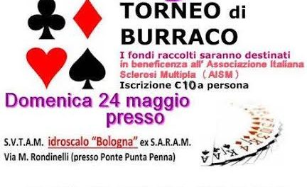 Torneo di burraco in favore dell'AISM