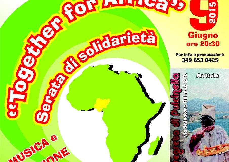 Together for Africa – Serata di solidarietà