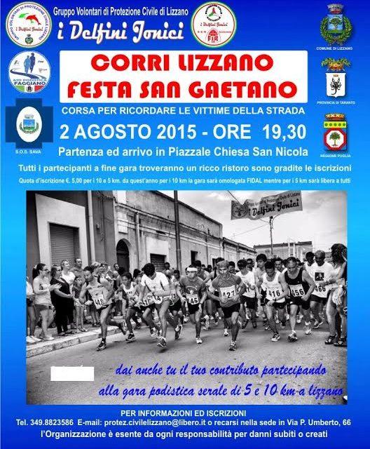 """""""Corri Lizzano"""" edizione 2015"""