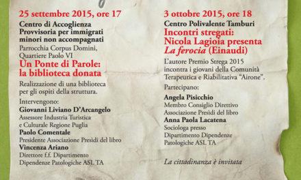 """""""Festa del Lettore"""", presentazione del libro di Nicola Lagioia"""