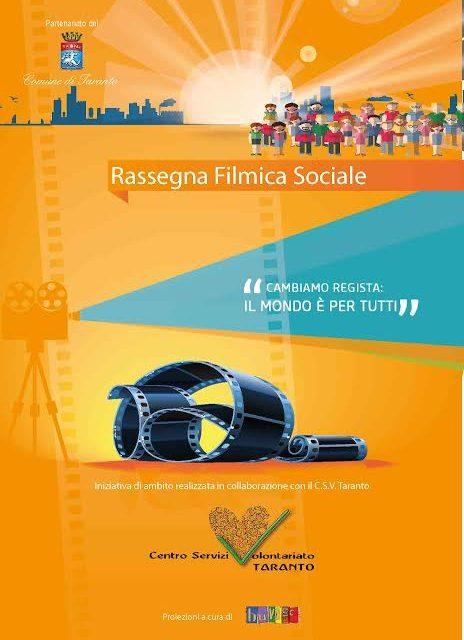 Venerdì 13 novembre appuntamento con la Rassegna Filmica Sociale
