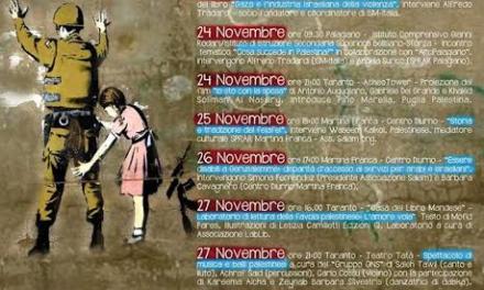 Una settimana per la Palestina