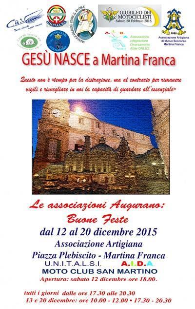 Gesù nasce a Martina Franca