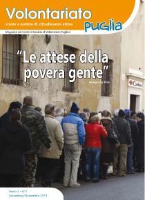 Volontariato Puglia – Anno 2 n° 3 – Settembre / Novembre 2015
