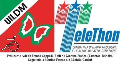 IX GIORNATA INTERNAZIONALE PER LE MALATTIE RARE – Premiazione Presidente UILDM Martina Franca e Brindisi