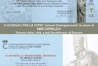 """I festeggiamenti in onore di San Cataldo: presentazione del libro """"Il Giubileo, la Misericordia, Francesco"""""""