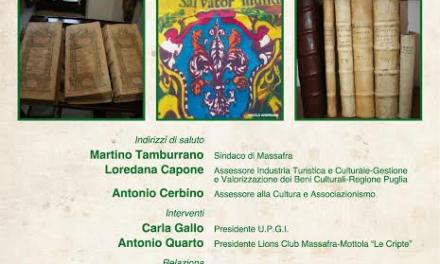 """Convegno """"Lascito Cappuccini- Adotta un libro"""""""