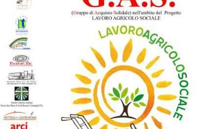 """Progetto """"Lavoro Agricolo Sociale"""", presentazione del G.A.S. – Gruppo di Acquisto Solidale"""