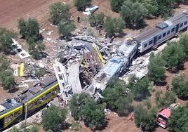 Disastro ferroviario nelle campagne tra Andria e Corato…presente anche il mondo del volontariato