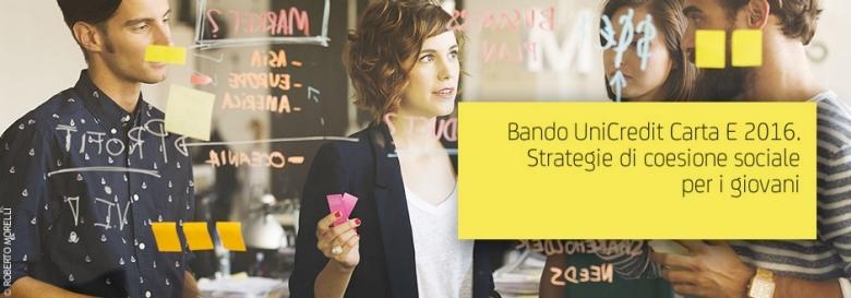 Bando UniCredit Carta E 2016