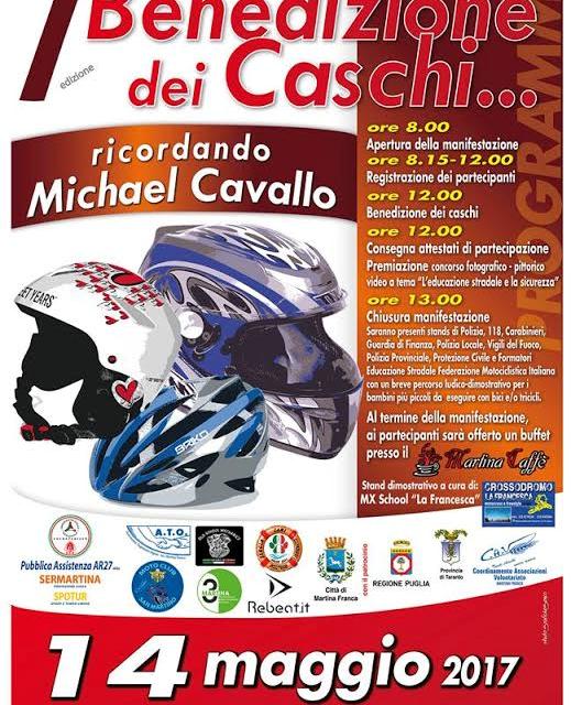 Benedizione dei Caschi – Ricordando Michael Cavallo – 7^ edizione
