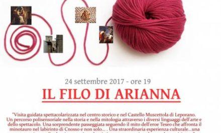 Il filo di Arianna domenica 24 a Leporano