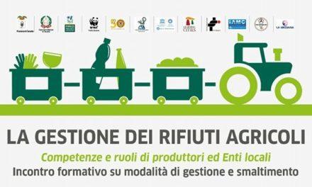 """""""Gestione e smaltimento dei rifiuti agricoli"""", incontro informativo"""