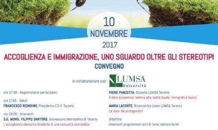 10 novembre in Rassegna: Accoglienza e immigrazione, uno sguardo oltre gli stereotipi