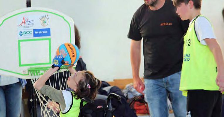 A.M.A.R.S.I. con il Baskin – Attività Motoria Adattata Rieducazione Sociale Inclusiva