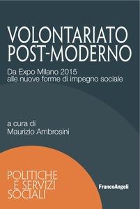 """""""Volontariato post-moderno. Da Expo Milano 2015 alle nuove forme di impegno sociale"""" di Maurizio Ambrosini – Franco Angeli ed."""