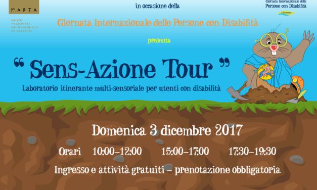 """""""Sens-Azione Tour"""", il laboratorio itinerante multisensoriale per utenti con disabilità"""