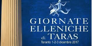 Giornate Elleniche di Taras: ci siamo!