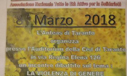 """8 marzo: """"Festa della Donna"""", un incontro sulla violenza di genere"""