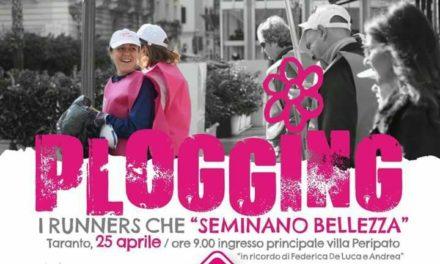 """""""Plogging Day"""", il primo in Italia, sarà a Taranto"""