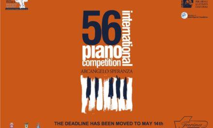 International Piano Competition  «Arcangelo Speranza», la 56a edizione senza un vincitore