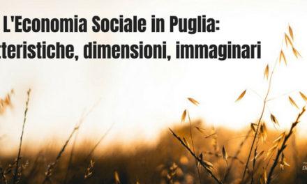 """""""L'Economia Sociale in Puglia: caratteristiche, dimensioni eimmaginari"""""""