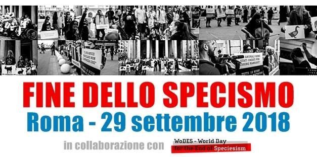 Giornata mondiale per la fine dello Specismo, l'OIPA Taranto a Roma