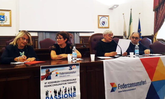 Maria Antonietta Brigida confermata presidente Fedeconsumatori Taranto
