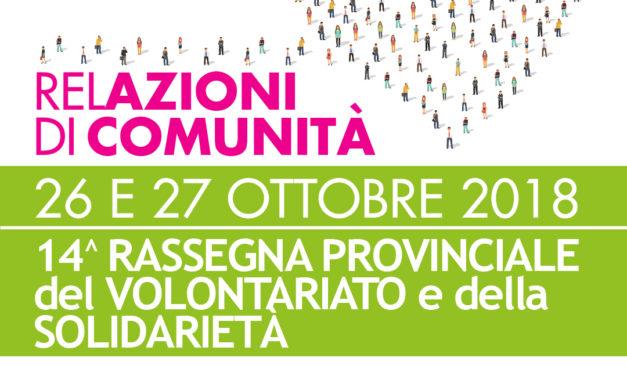 Programma della XIV Rassegna del Volontariato e della Solidarietà