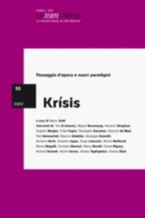 """""""Krìsis – Passaggio d'epoca e nuovi paradigmi"""" di Marco Dotti – edizione Communitas, ottobre 2011"""