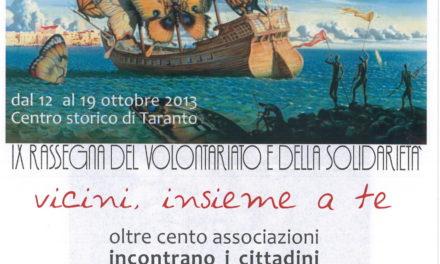 """IX Rassegna del Volontariato e della Solidarietà """"Vicini, insieme a te"""""""