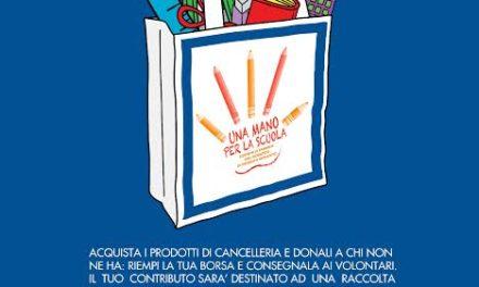 """COOP ESTENSE, C.S.V. Taranto e il volontariato locale insieme per il progetto """"Una mano per la scuola"""""""