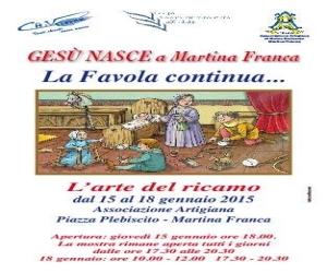 L'Arte del ricamo a Martina Franca