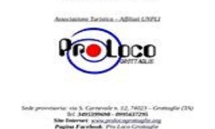 """La Pro Loco di Grottaglie a """"Puglia  Open Days 2015"""""""