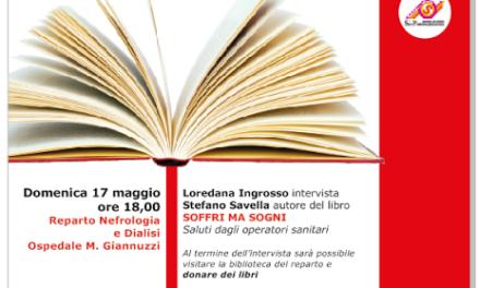 """Presentazione del libro di Stefano Savella all'Ospedale """"Giannuzzi"""" di Manduria"""
