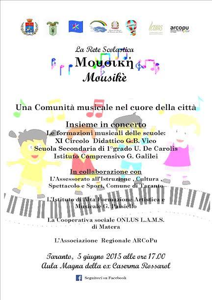 """""""Mousikè"""" – Una comunità musicale nel cuore della città"""
