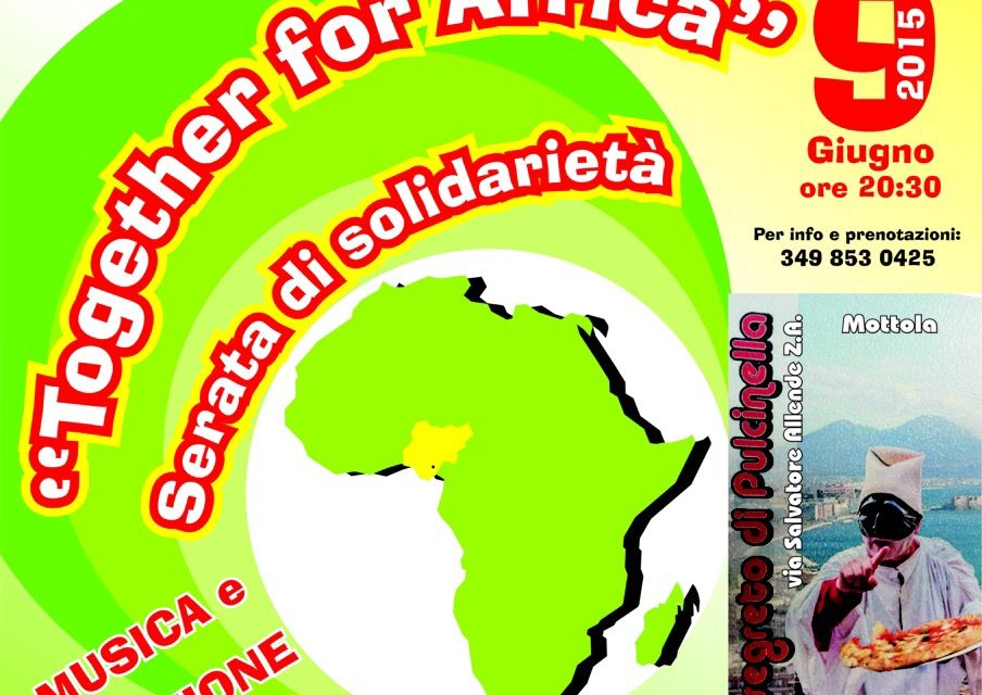 Together for Africa – Serata di solidarietà