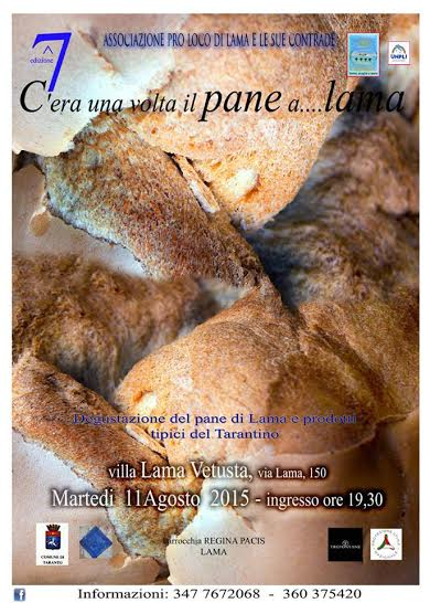 C'era una volta il pane…a Lama
