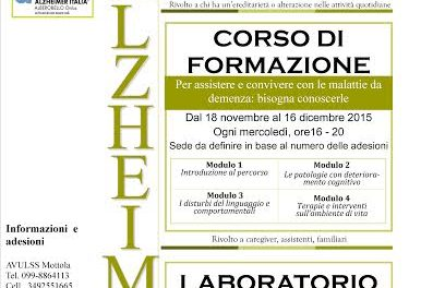 Percorso di approccio all'Alzheimer e alle patologie correlate