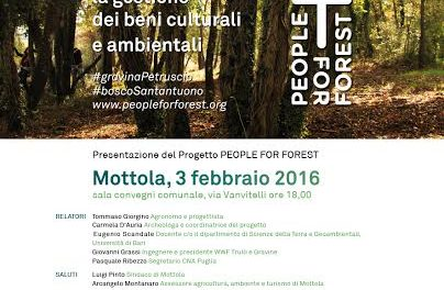 """People for forest, forest for people"" – i giovani per la tutela dei beni culturali e ambientali"
