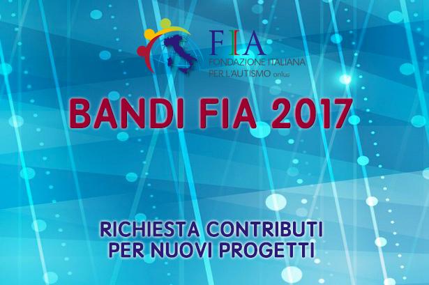 Bando FIA 2017 per contributi a nuovi progetti